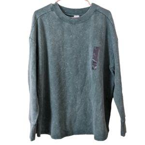 All In Motion Green Tie Dye XXL Sweatshirt
